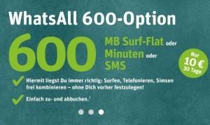whatsapp SIM Angebot